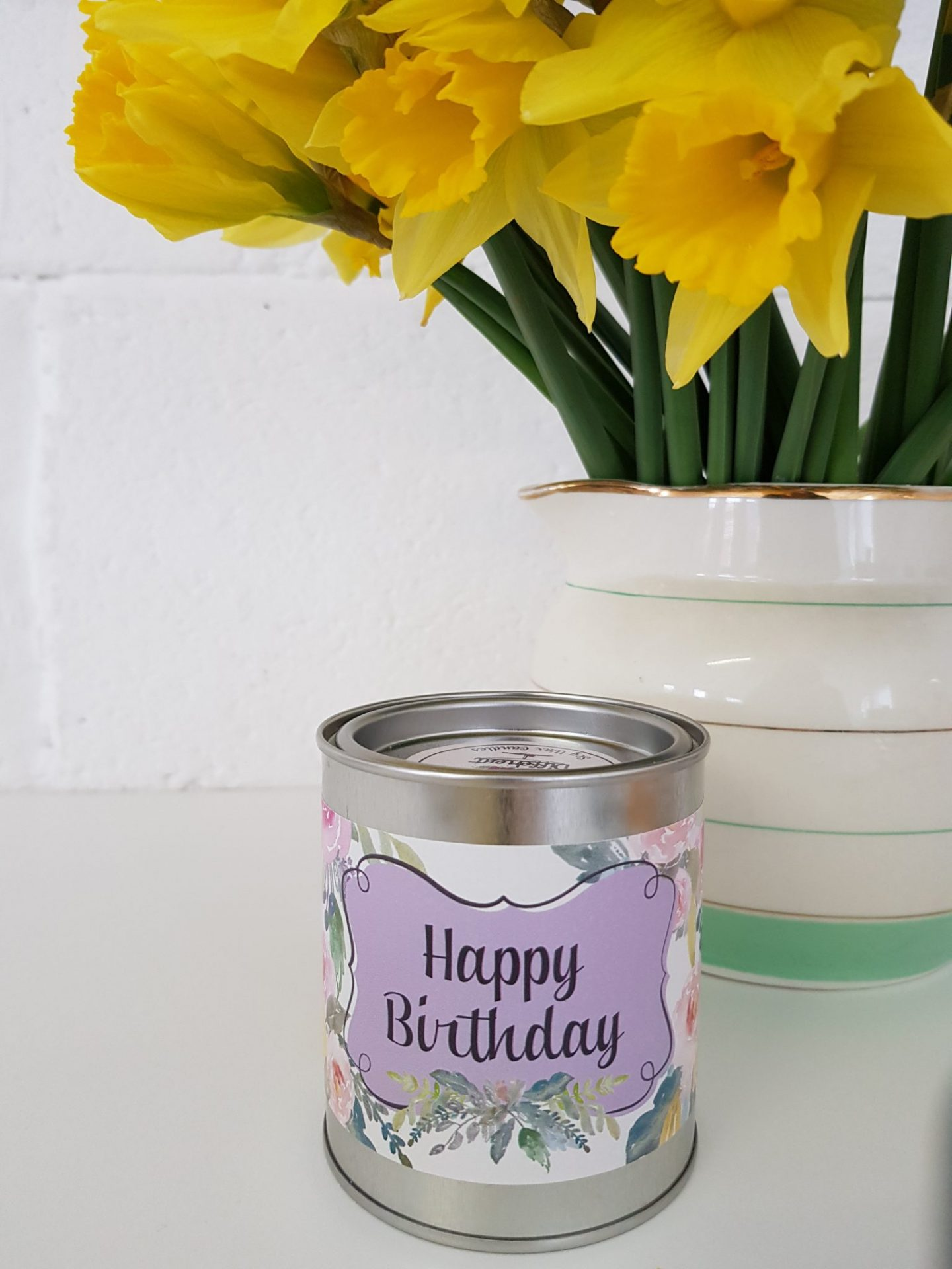 Happy Birthday Candle Cake Scented