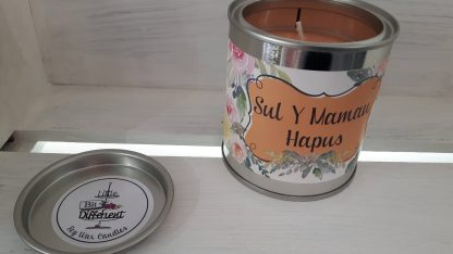 Sul Y Mamau Hapus candle. Vegan candle. Welsh candle. Soy wax candle. Mothers Day candle