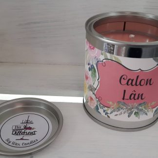 Calon Lan candle. Vegan candle. Welsh candle. Soy wax candle. Mothers Day. Handmade in Wales, UK