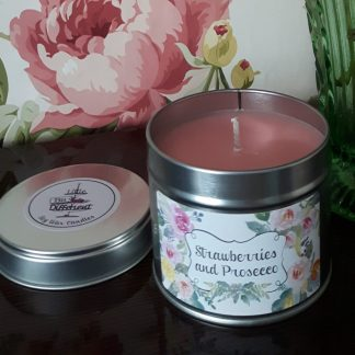 Prosecco candle