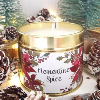 Clementine Spice candle