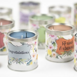 Welsh language and occasion candles