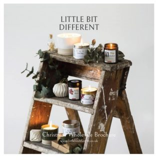The Little Bit Different wholesale brochure has landed in our stockists inboxes but if for any reason you haven't had yours please dm or email us to let us know and we will send one to you ASAP.  #wholesale #welsh #shoplocal #welshgifts #welshvegans #welshcandles #veganfriendlycandles #littlebitdifferent #nontoxic #madeinwales #welsh #welshchristmas #christmascandles #christmasmelts #festivefragrance #welsh