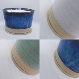 Thank you for waiting so patiently, the gorgeous garden candles are now on the website and Etsy. Link in the bio and at www.littlebitdifferent.co.uk  They were hand thrown and glazed by Helen at @snowdonia_blueslate_pottery and then filled with beautifully scented candles here in our candles kitchen.  It has taken all my willpower to actually list these and not keep them all!!