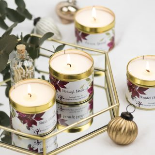 Preparations are well underway for our Christmas launch.  It will be arriving with stockists shortly and will be on the website at the end of the month.  I can't wait to share more of the gorgeous photos from @hollyboothstudio #christmascandles #christmasmelts #festivefragrance #welsh #shoplocal #wholesale #handmadeswansea #vegansofswansea #vegancandles #crueltyfree #etsyseller #etsymadelocalswansea #soywax #veganfriendlycandles #littlebitdifferent #nontoxic #deskcandles #candleweather #bespokewholesale #wholesalecandles